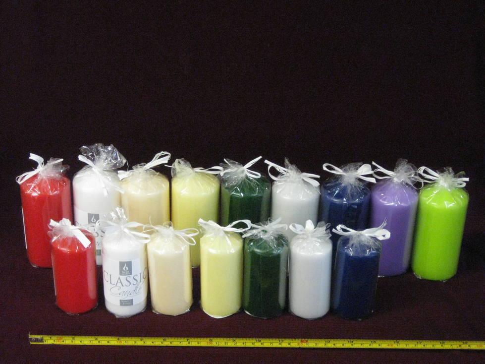 Žvakė cilindras 5 x 10, 6 x 12