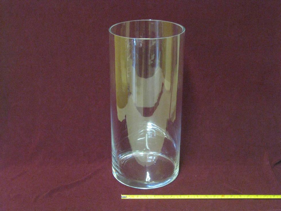 Stiklo gaminys vaza cilindras