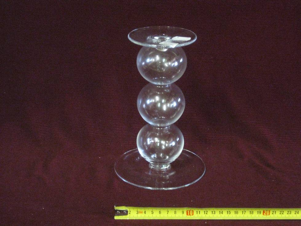 Žvakidė stiklinė