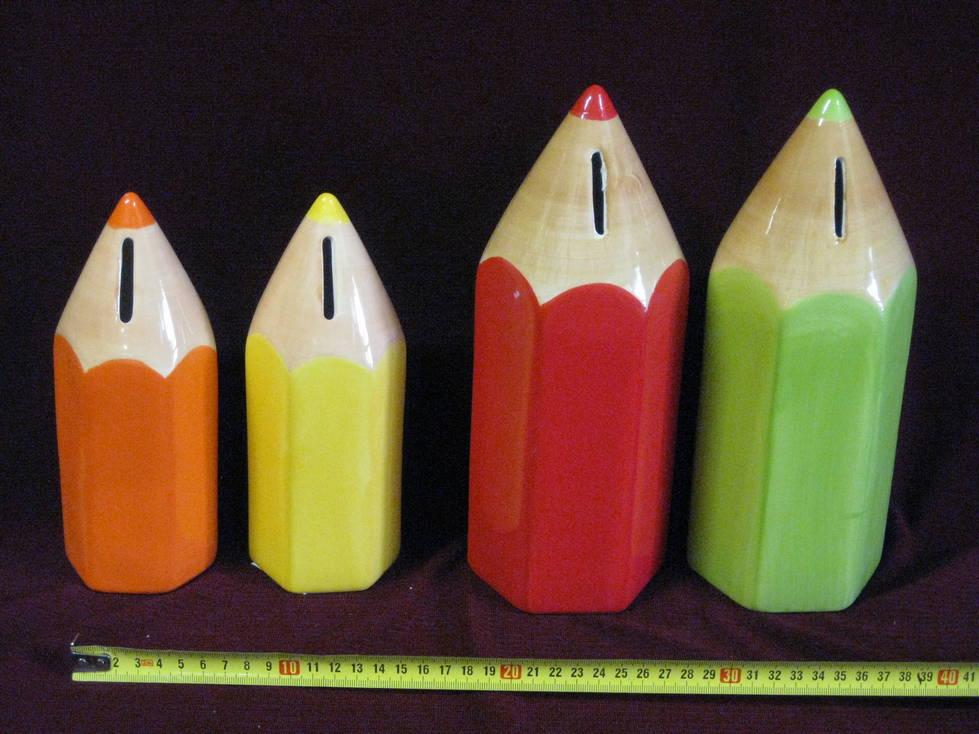 Taupyklė keramikinė pieštukas 7x20x7, 9x25x9