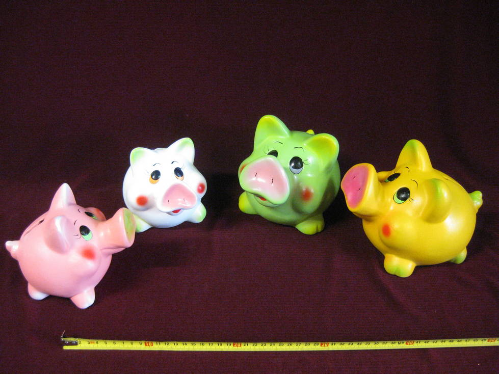 Taupyklė keramikinė kiaulė