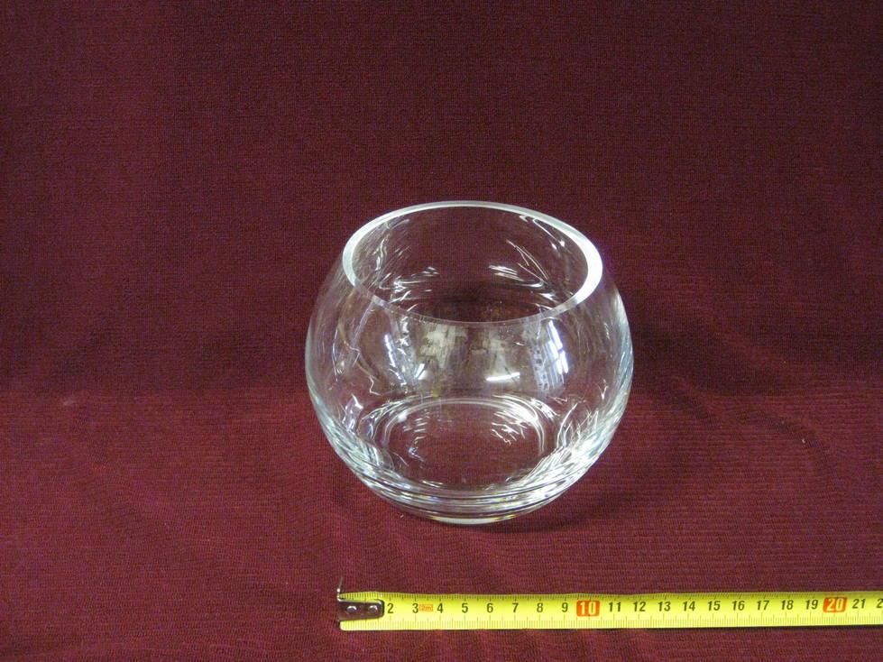 Vaza stiklinė burbulas