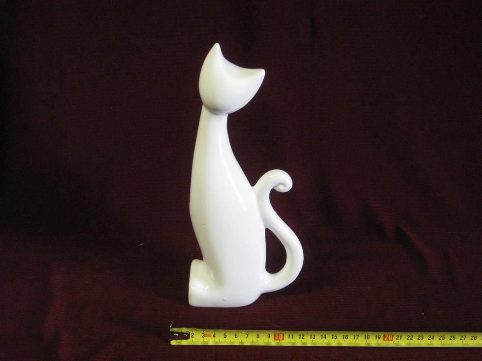 Katinas keramikinis suvenyras