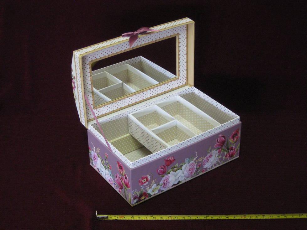 Dėžutė bižuterijai kartoninė
